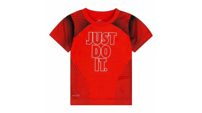 Nike 男童運動短衣 尺寸  6. 7 歲 有3色 # DRI-FIT