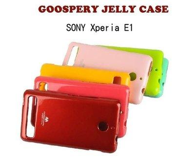 *PHONE寶*GOOSPERY韓國 SONY Xperia E1 D200 閃粉果凍套 矽膠套 保護套