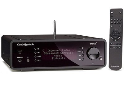 台中 *崇仁視聽音響* Cambridge Audio Minx Xi 網路音樂播放機+立體擴大機 (無線Wifi or Bluetooth )