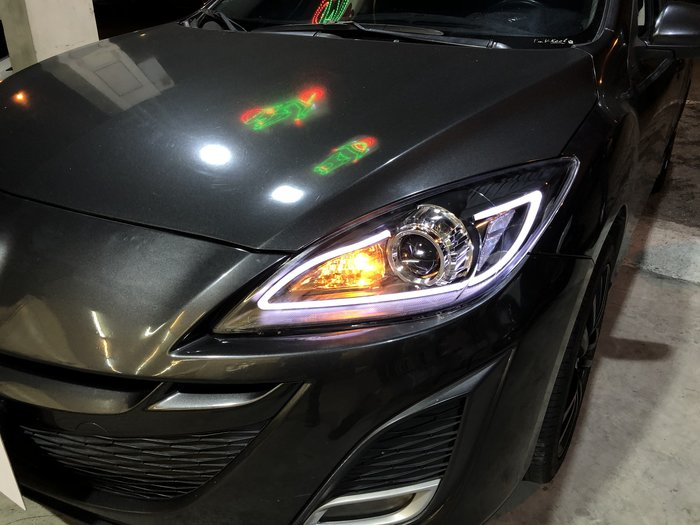 合豐源車燈 Mazda 3 馬3 導光 條 R8 魚眼 透鏡 頭燈 大燈 馬三 馬自達 3 09 10 11 12 13