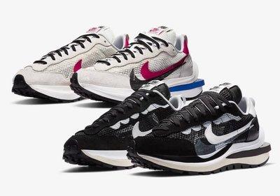 Nike X Sacai VaporWaffle Sail 年度重點聯名 黑白兩色