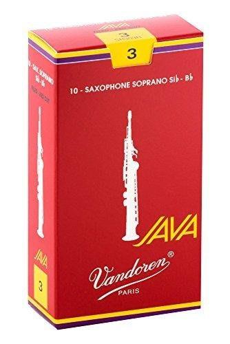 【現代樂器】全新法國Vandoren Java Red Soprano saxophone 高音薩克斯風3號竹片