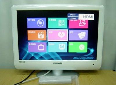 保固3個月【小劉二手家電】CHIMEI  22吋 HDMI液晶電視