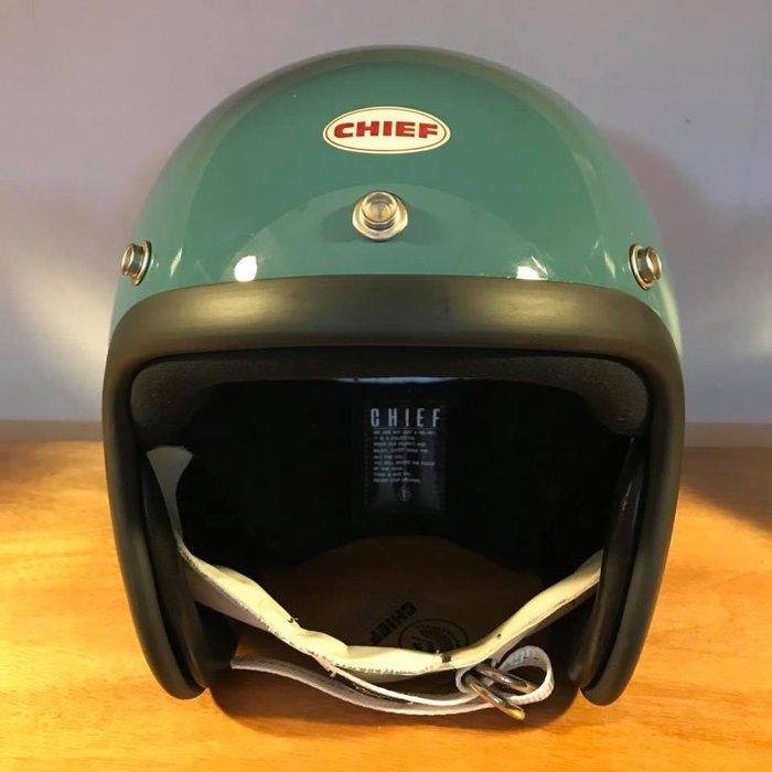 (I LOVE樂多) Chief Helmet TX500 3/4 小帽體安全帽 藍色 喜愛BELL BUCO 可參考