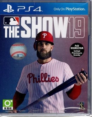 MLB The Show 19 美國職棒大聯盟19 普通版 (亞洲英文版) (免運)下殺折扣