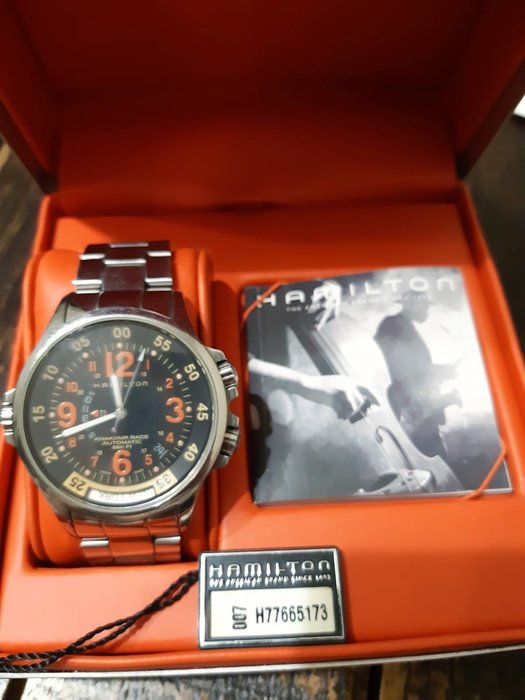 HAMILTON 漢米爾頓 KHAKI Aviation Air Race GMT 卡其航空兩地時間系列 H77665173自動機械錶,歡迎出價聊聊