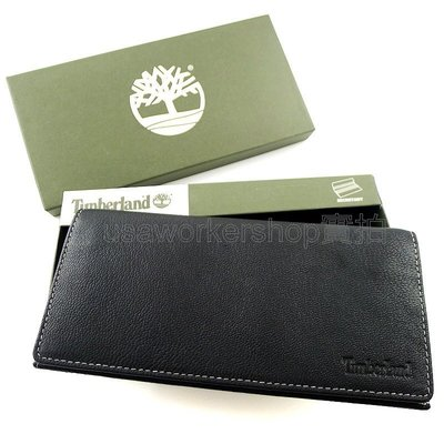 Timberland專櫃正品  美國購入天柏嵐拉鍊零錢袋長夾附禮盒提袋 男用 長皮夾 男生長夾