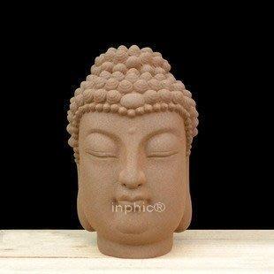 INPHIC-宗教 釋迦牟尼頭像 佛像 家居客廳裝飾擺設擺飾 陶瓷開光工藝品