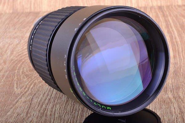【品光攝影】Makinon 200mm F3.3 OM接環  內建遮光罩 可轉接 NEX M43 #20669