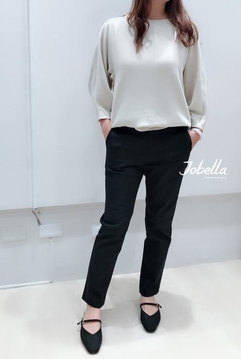 ✽JoBella 韓國空運 韓國代購 韓貨✽ 後綁結7分袖上衣 現貨+預購