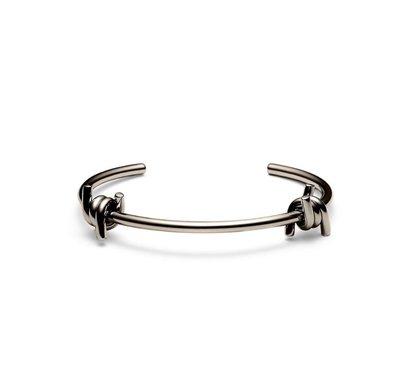 美國 MVMT 簡約時尚 DOUBLE BARBED CUFF 雙結繩不鏽(銹)鋼 手環 DWCluseCK