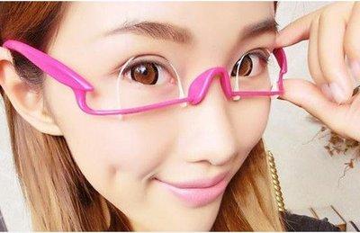 日本雙眼皮眼鏡框架神器 隱形纖維條割雙眼皮貼定型霜 永久鍛煉器