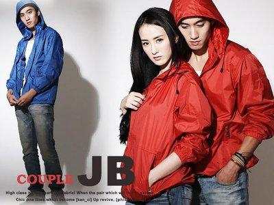 JB Just Best 【AJ1009】雜誌款. 防風/防潑水可拆式連帽抽繩拉扣風衣外套/情侶/多色/日韓