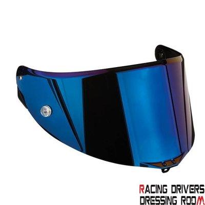♚賽車手的試衣間♚ AGV® AGV PISTA GP-CORSA IRIDIUM BLUE VISOR 鏡片 電鍍