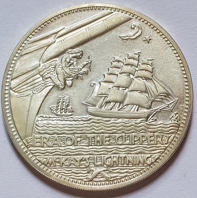 英國銀章1972 UK Sovereign of the Seas Silver Medal.