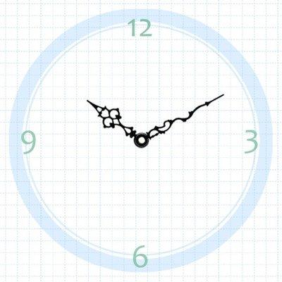 【鐘點站】T060043 SUN機芯專用 指針 / 分針61mm 時針44mm / DIY 時鐘 掛鐘 鐘針