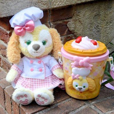 ArielWish預購日本東京迪士尼2020達菲熊Duffy曲奇安曲奇狗狗Cookie Ann爆米花桶收納桶玩具桶收納盒