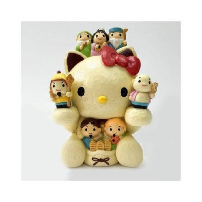【莓莓小舖】正版 ♥ Sanrio 三麗鷗 Hello Kitty 木製開運存錢筒