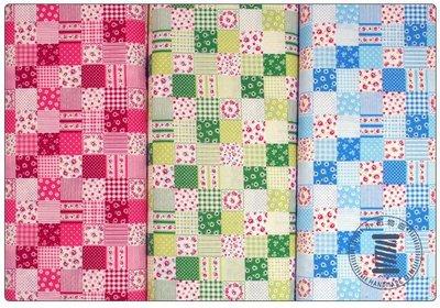 ✿小布物曲✿100%純棉 鄉村田園風系列印花布 窄幅110CM 日本進口布料質感優5色 口罩 拼布