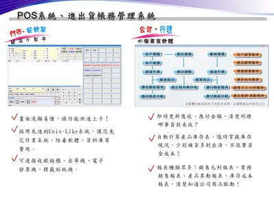 鴻奕進銷存軟體 台南 高雄  客服維修 POS軟體 會計軟體 銘耀資訊!