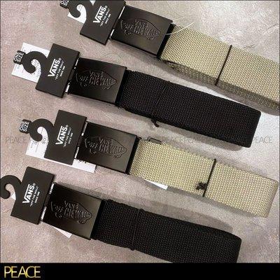 【PEACE】Vans_Conductor II Web Belt 鐵製頭 鐵製 皮帶頭 帆布 皮帶