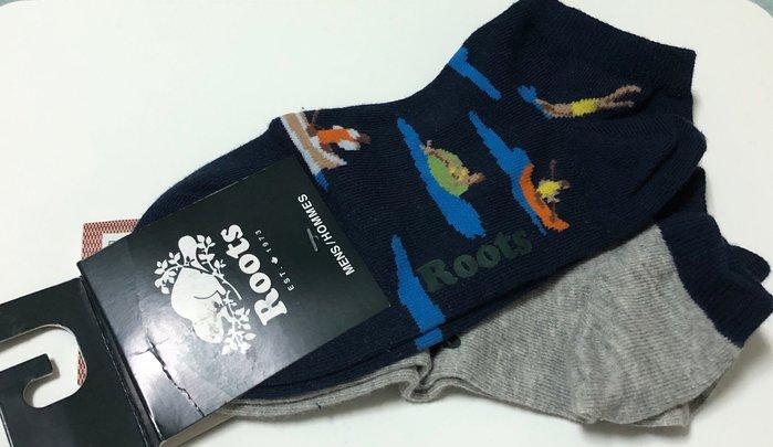 Roots 男獨木舟短襪(兩雙)—-含運