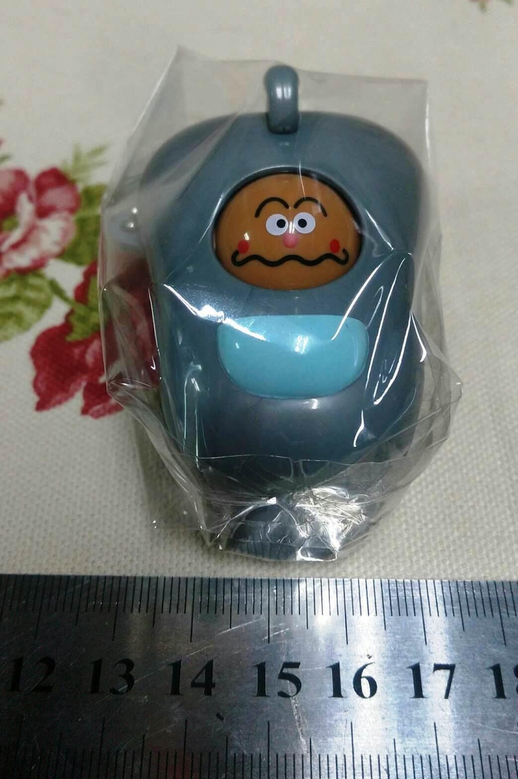 龍廬-自藏出清~ BAN DAI轉蛋 紅豆麵包超人 角色 咖哩超人玩具車吊飾  包包掛件 吊飾 自用送人均可唷/只有一個