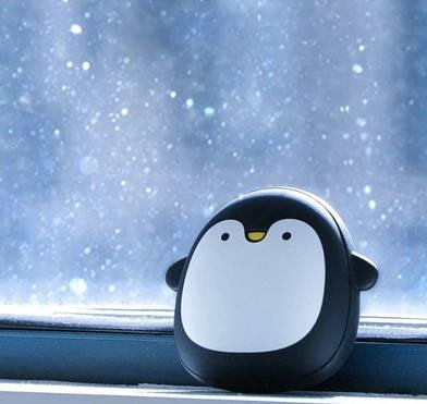 極地物種暖手寶創意卡通可愛便攜可充電移動電源充電寶