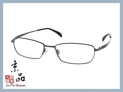 【CHARMANT】PERFECTION系列 CH10293 DG 銀色 黑色 日本 鈦金屬眼鏡 JPG 京品眼鏡