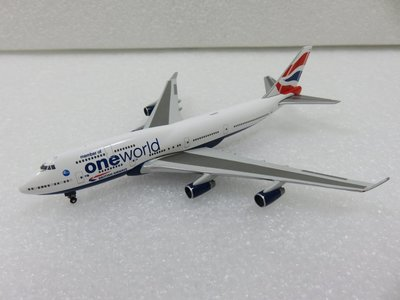 宗鑫貿易 1/500 Herpa Wings HW531924 Boeing 747 400