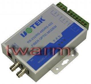 《德源科技》r)UT-277 MM RS422/RS485光纖轉換器 MODEM (原廠總代理) UT-277MM