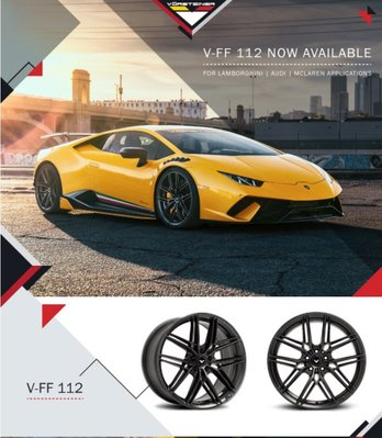 =1號倉庫= Vorsteiner V-FF 112 鋁圈 鋼圈 Lamborghini AUDI McLaren
