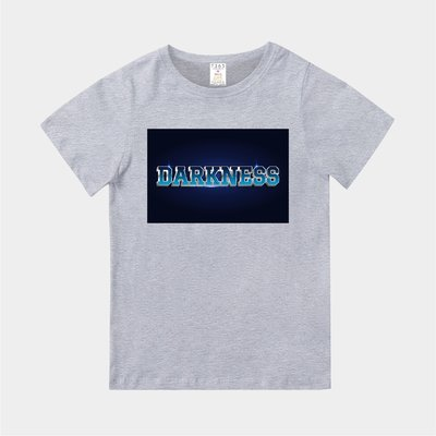 T365 MIT 親子裝 T恤 童裝 情侶裝 T-shirt 標語 話題 口號 美式風格 slogan DARKNESS