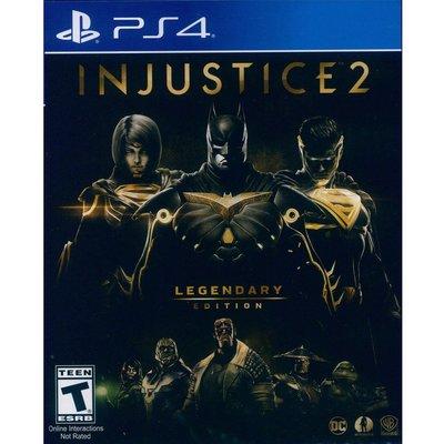 (現貨全新) PS4 超級英雄 2 傳奇版 英文美版 Injustice 2 Legendary Edition