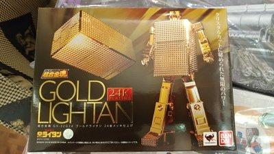 Bandai 超合金魂 GX-32R 24k 黃金戰士 Lightman 黃金俠 行版全新現貨