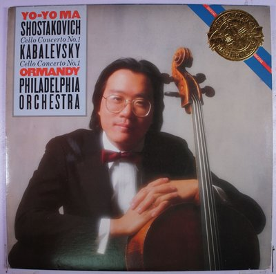 《二手美版黑膠》Yo-Yo Ma - Shostakovich / Kabalevsky - Cello Conc