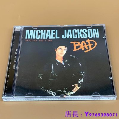 全新CD音樂 Michael Jackson Bad CD 專輯