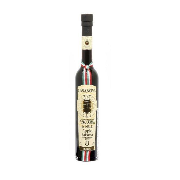 義大利卡薩諾瓦[CASANOVA]巴薩米克陳年蘋果葡萄醋100ml-8年  (量大另議)