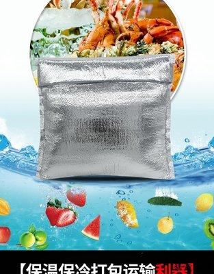 保溫袋 一次性包裝袋 保鮮打包袋 鋁箔保溫袋一次性食品大號海鮮冷藏保鮮外賣加厚冰袋隔熱包保冷袋新品免運