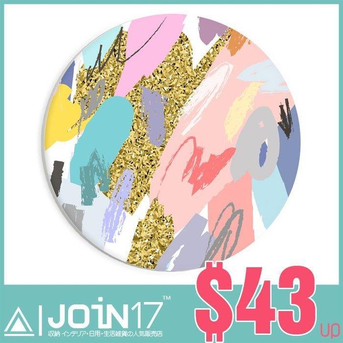Join17™台灣製鶯歌吸水杯墊~全天然材質~媲美珪藻土~婚禮小物~可訂製~快速生產 抽象塗鴉