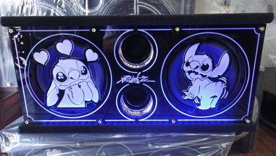 高雄震撼力~史迪奇 雙8吋 500W被動式超低音喇叭 毒蠍品牌