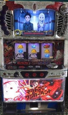 日本原裝機台SLOT 斯洛2015死囚樂園 漫畫經典收藏大型電玩 插電就可玩非柏青哥小鋼珠.打造自己遊戲空間收藏品
