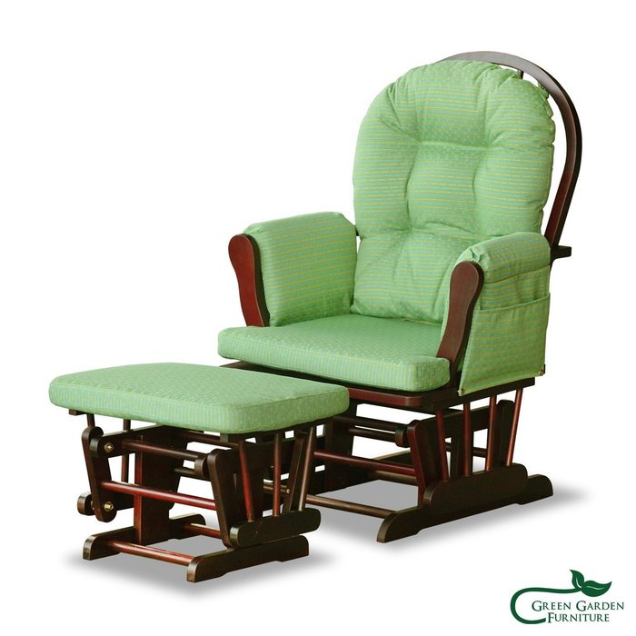 育嬰搖椅【大綠地家具】100%印尼桃花心木/搖椅/絕版品/出清特賣/含椅墊不可挑色
