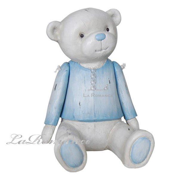 【芮洛蔓 La Romance】德國 Heidi 童趣家飾 - 粉藍寶貝熊 / 動物擺飾 / 小孩房 / 兒童房