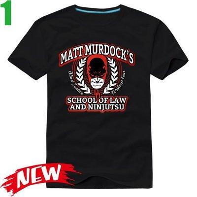 【夜魔俠 超膽俠 Daredevil】短袖超級英雄T恤(共6種顏色可供選購) 任選4件以上每件400元免運費!【賣場一】