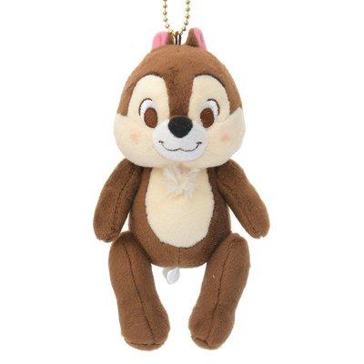 *B' Little World * [現貨]東京迪士尼專賣店限定/松鼠奇奇手腳可動吊飾/花栗鼠/東京連線