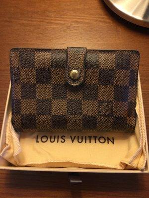 LOUIS VUITTON LV 棋盤格中短皮夾