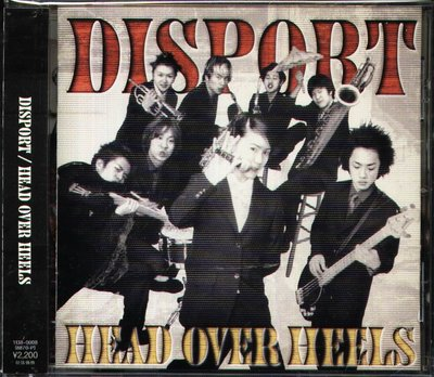 K - DISPORT - HEAD OVER HEELS - 日版 OBI