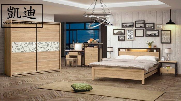 【凱迪家具】M1-327-2鋼尼爾 5.2 尺床片型床台式床組(全組)/桃園以北市區滿五千元免運費/可刷卡