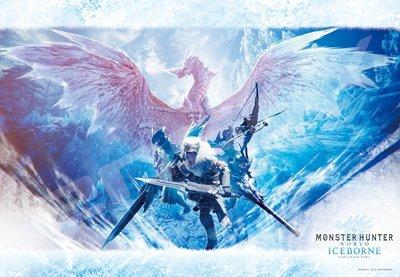 日本進口拼圖 MONSTER HUNTER 魔物獵人 冰咒龍  1000片拼圖 1000T-154